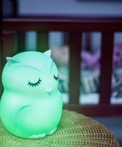 Nachtlicht LumiPets EULE auf www.mina-lola.com