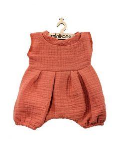 Puppenkleidung Baby Bloomer NOA Marsala auf www.mina-lola.com von Minikane