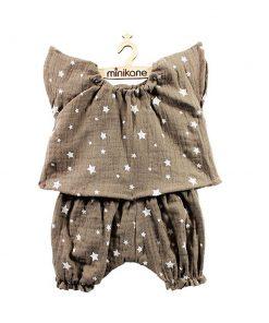 Puppenkleidung Pyjama LAURA auf www.mina-lola.com von Minikane