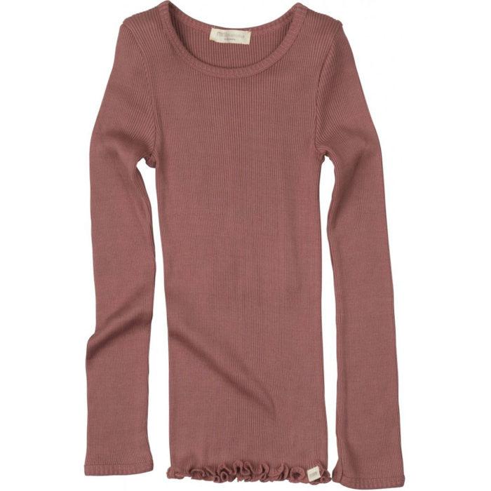 Shirt Bergen Antique Red auf www.mina-lola.com von Minimalisma