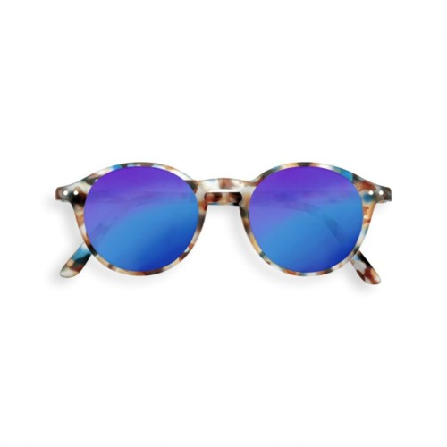 Sonnenbrille JUNIOR #D Blue Tortoise Mirror Izipizi auf www.mina-lola.com