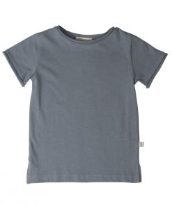 T-Shirt LYN Dusty Blue Minimalisma auf www.mina-lola.com