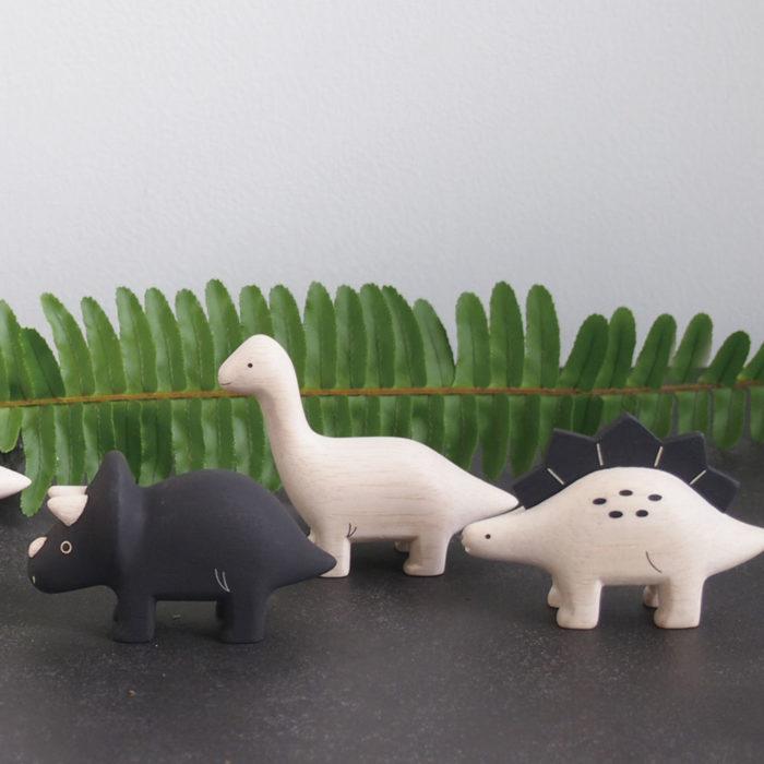 Holztiere Dinos T-Lab auf www.mina-lola.com