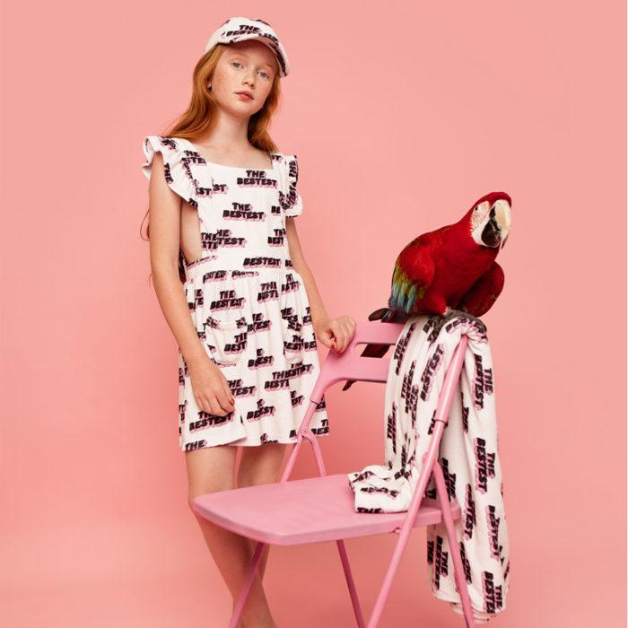 Terry Ruffle Dress The Bestest Hugo Loves Tiki auf www.mina-lola.com