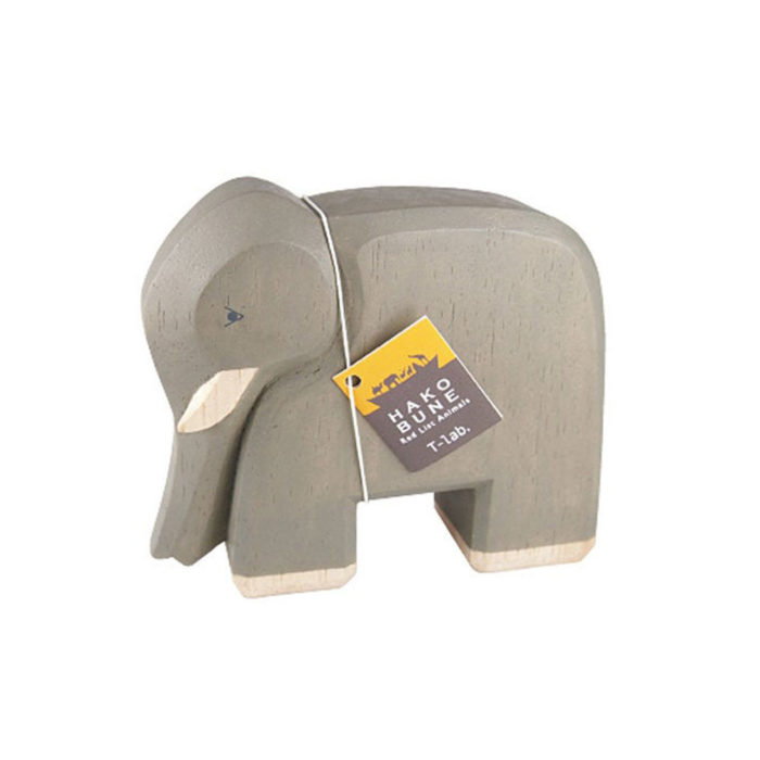 Holztier Elefant Hako Bune T-Lab auf www.mina-lola.com
