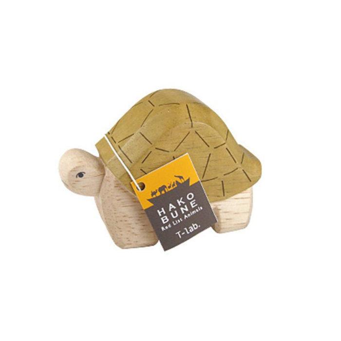 Holztier Schildkröte Hako Bune T-Lab auf www.mina-lola.com