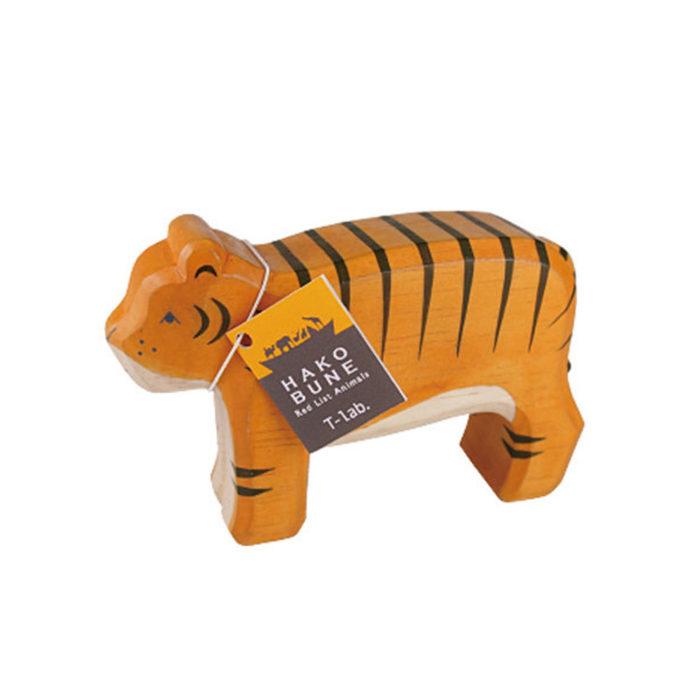 Holztier Tiger Hako Bune T-Lab auf www.mina-lola.com