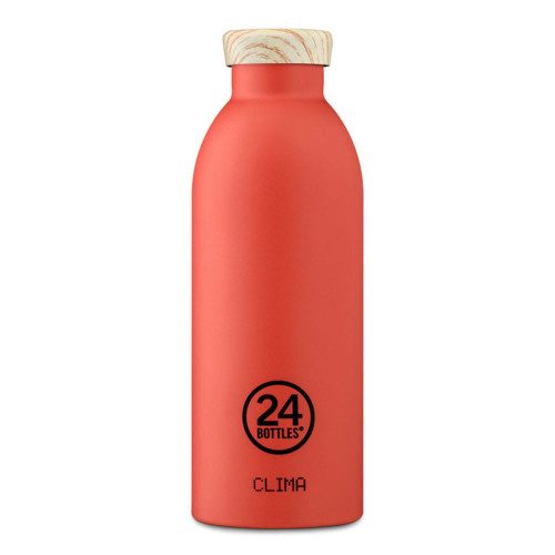 24bottles Thermoflasche Pachino-Wooden Lid 500ml auf www.mina-lola.com