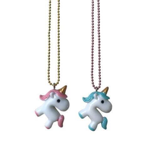 Halskette Baby Unicorn Gatcha Rosa auf www.mina-lola.com von Pop Cutie