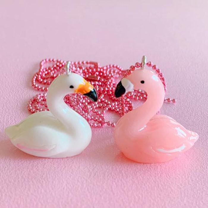 Halskette Flamingo Pop Cutie auf www.mina-lola.com