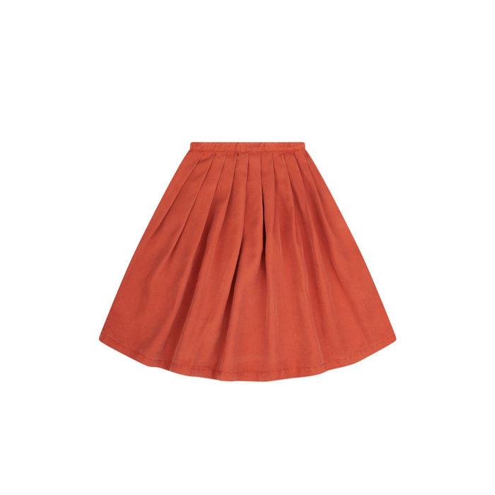 Midi Skirt Red Wood auf www.mina-lola.com von Mingo