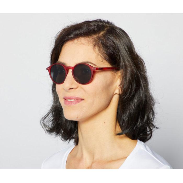 Sonnenbrille #D Adults Red Izipizi auf www.mina-lola.com