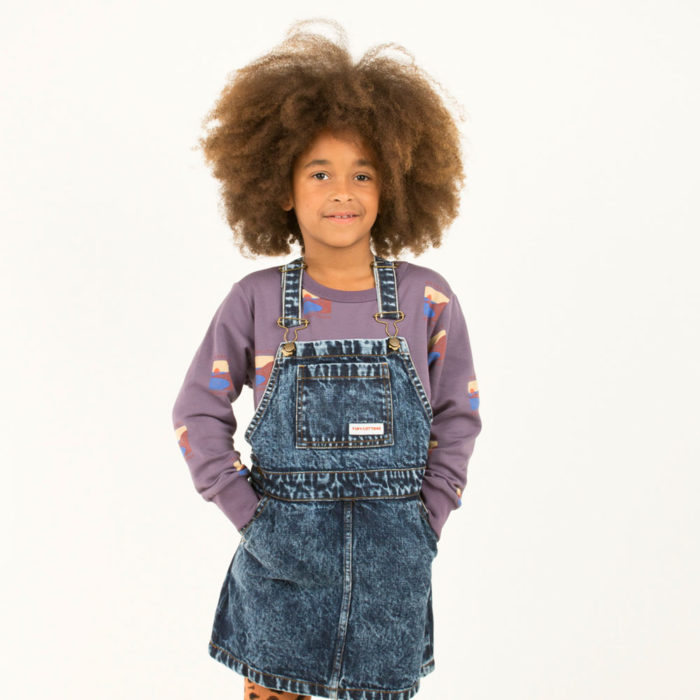 Sweatshirt SAUSALITO Dark Lilac von Tinycottons auf www.mina-lola.com