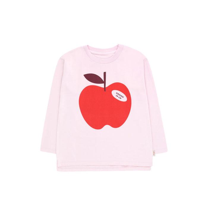 Kids Shirt APPLE Tee Pale Pink von Tinycottons auf www.mina-lola.com