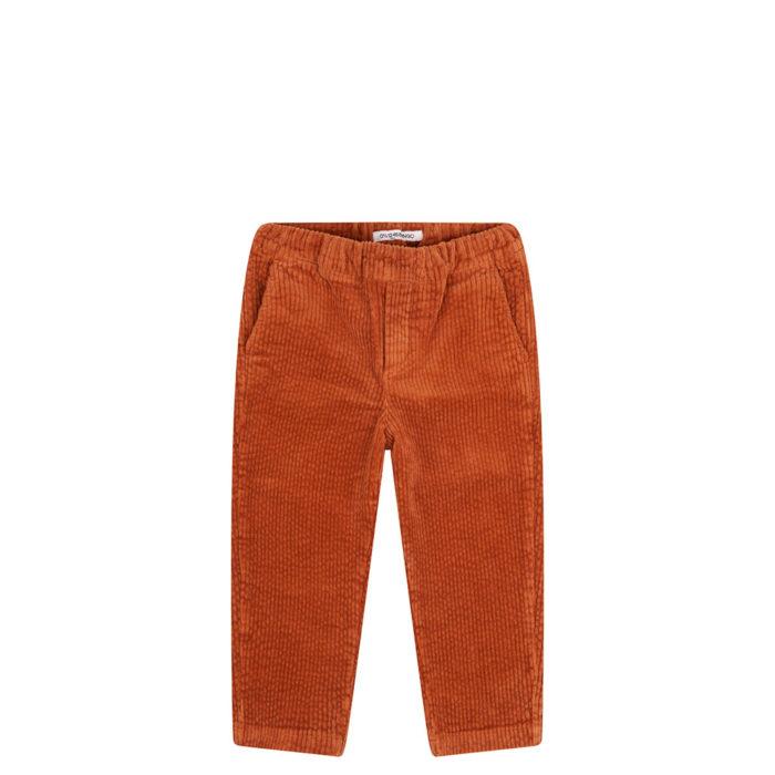 Tapered Trouser Leather Brown auf www.mina-lola.com von Mingo