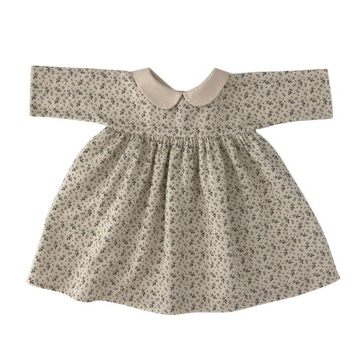 Kleid Kragen FLOWER von Liilu auf www.mina-lola.com