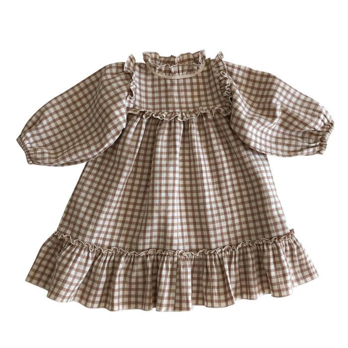 Kleid LIANA Check von Liilu auf www.mina-lola.com