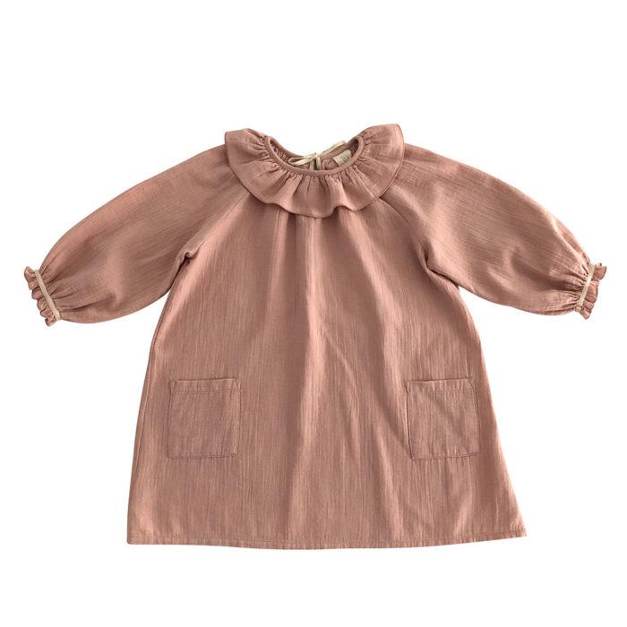 Kleid OANA Misty Rose von Liilu auf www.mina-lola.com