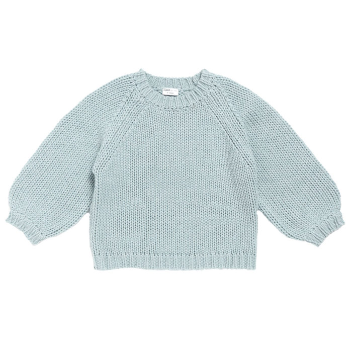 Sweater Knit Softy Seal Maed for Mini auf www.mina-lola.com