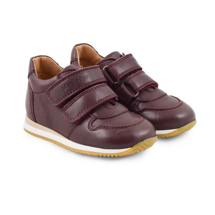 Sneaker WINE aus Leder von POM POM auf www.mina-lola.com