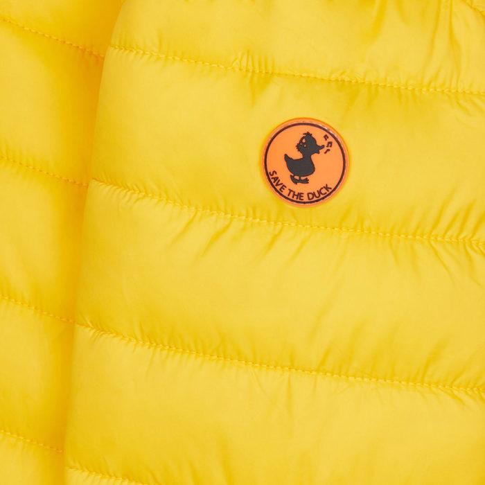 Save the Duck Ultra Light Jacket Chrome Yellow auf www.mina-lola.com