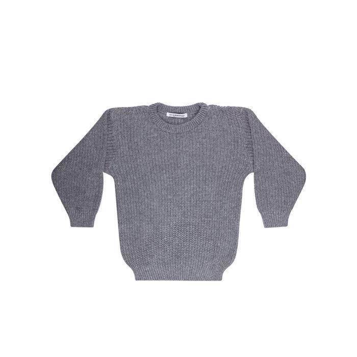 Sweater Knit Grey auf www.mina-lola.com von Mingo