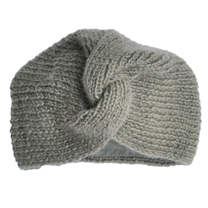 Turban Hat Kids Grey von Hats Over Heels auf www.mina-lola.com