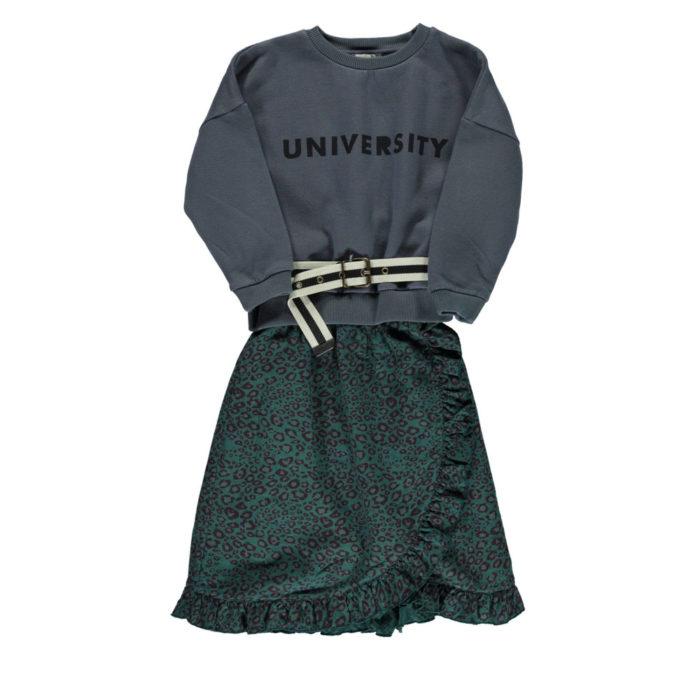 Sweatshirt UNIVERSITY von Piupiuchick auf www.mina-lola.com