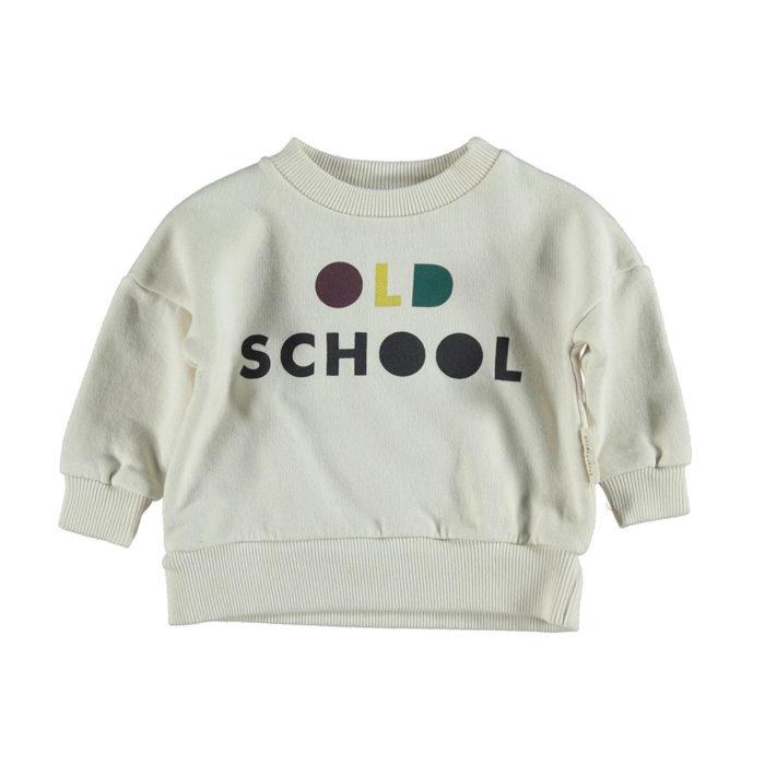 Sweatshirt OLD SCHOOL von Piupiuchick auf www.mina-lola.com