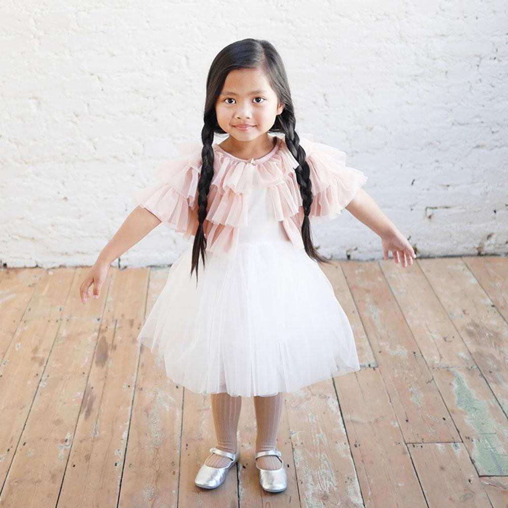 Dress Bunnytail White auf www.mina-lola.com von Bob&Blossom