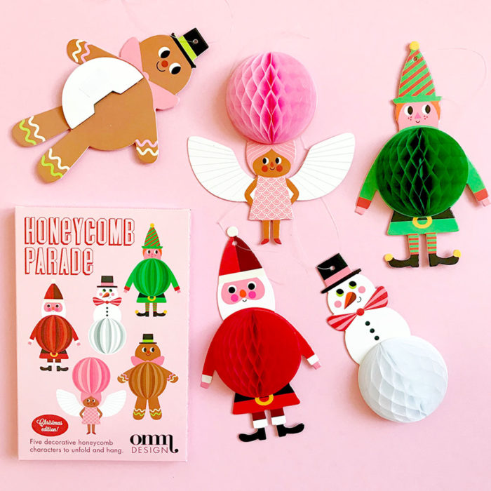 Honeycomb Christmas Studio Omm Design auf www.mina-lola.com