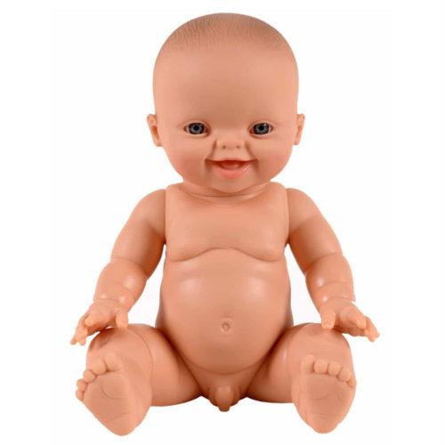 Baby Puppe GORDI European BOY Smiling von Paola Reina auf www.mina-lola.com