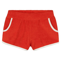 Short Terry Girl Red auf www.mina-lola.com