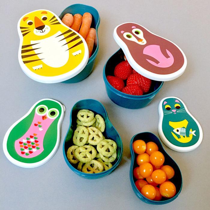 Matryoschka Snack Boxes Studio Omm Design auf www.mina-lola.com
