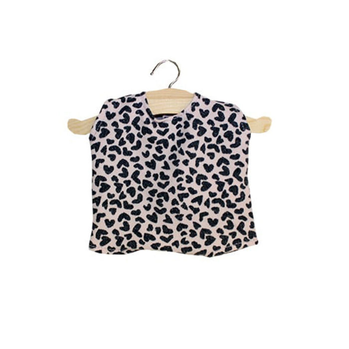 Puppenkleidung Body Leopard Hell Minikane auf www.mina-lola.com