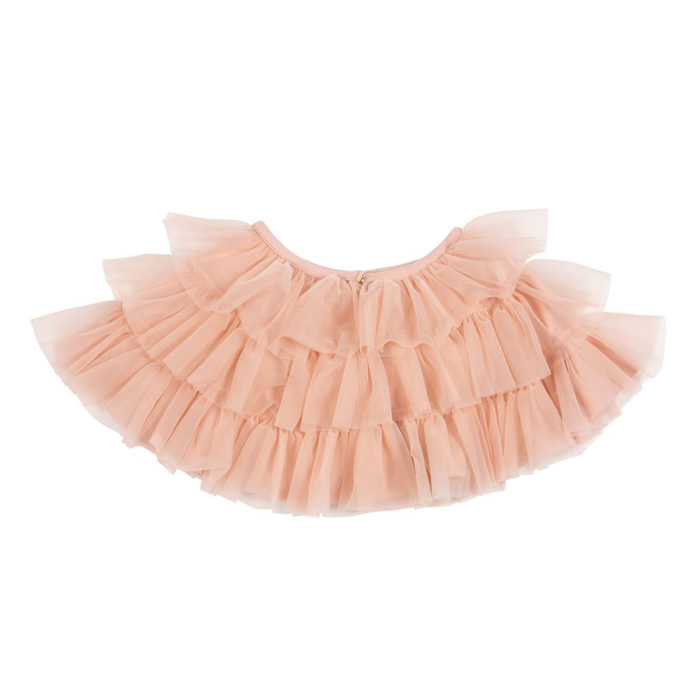 Umhang Ballet Pink Bob&Blossom auf www.mina-lola.com