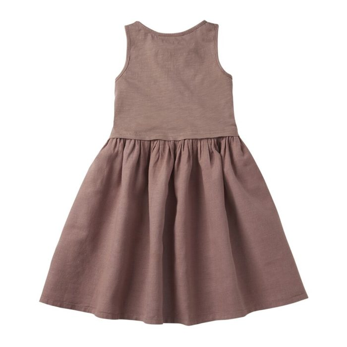 Ärmelloses Kleid Antler aus Leinen Mingo auf www.mina-lola.com