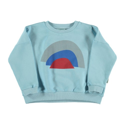Sweatshirt RAINBOW Piupiuchick auf www.mina-lola.com