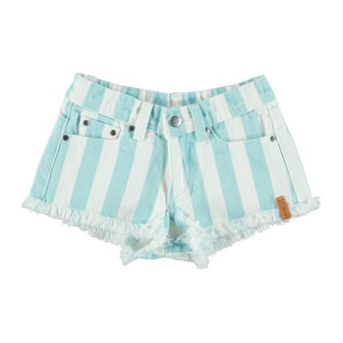 Shorts mit Streifen Piupiuchick auf www.mina-lola.com