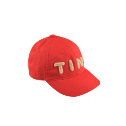 Cap TINY in red von Tinycottons auf www.mina-lola.com
