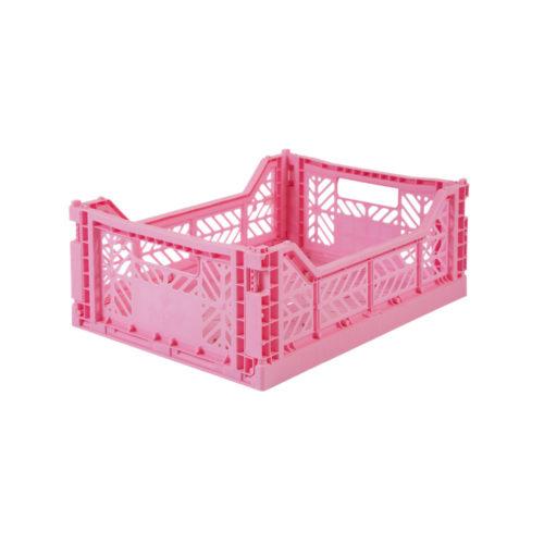 Klappkiste Midi Baby Pink Ay-Kasa auf www.mina-lola.com