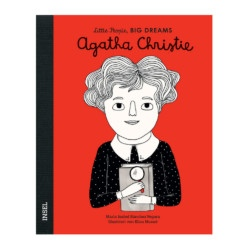 Bilderbuch Agatha Christie von Little People, Big Dreams auf www.mina-lola.com