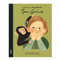 Bilderbuch Jane Goodall von Little People, Big Dreams auf www.mina-lola.com