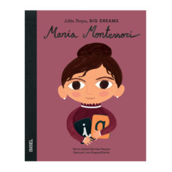 Bilderbuch Maria Montessori von Little People, Big Dreams auf www.mina-lola.com