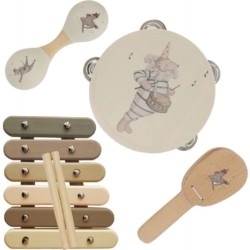 Musikinstrumente Set von Konges Sløjd auf www.mina-lola.com