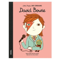 Bilderbuch David Bowie von Little People, Big Dreams auf www.mina-lola.com