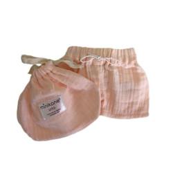 Puppenkleidung Kurze Hose VITO Rose Minikane auf www.mina-lola.com