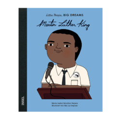 Little people Big dreams Martin Luther King auf www.mina-lola.com