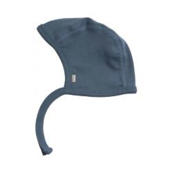 Babymütze NY Steel Blue Minimalisma auf www.mina-lola.com