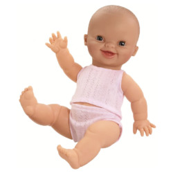 Baby Puppe GORDI European GIRL Smiling von Paola Reina auf www.mina-lola.com